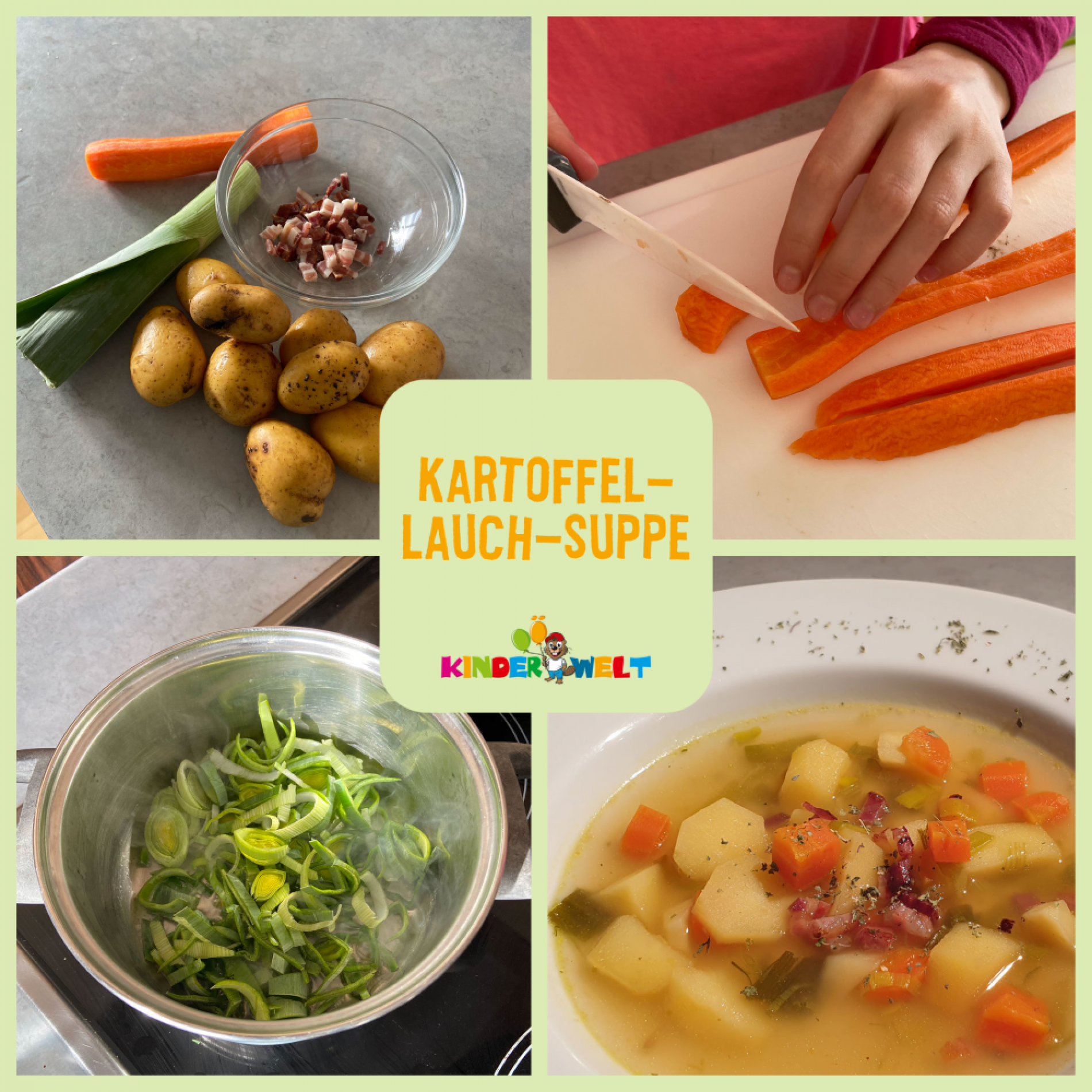 Kartoffel-Lauch-Suppe-Post